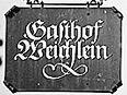 Logo - Gasthof Weichlein