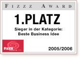 Fizzz-Award für Yovite.com