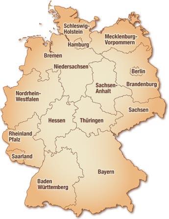 Restaurants aus Bundesländern - Deutschland
